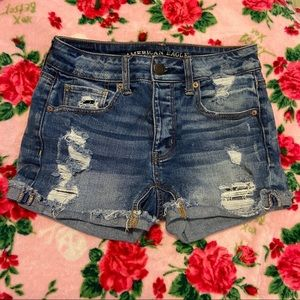 American Eagle Jeans Shorts Tomgirl